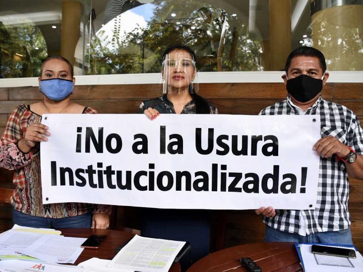 Representa IPE la usura institucionalizada en Veracruz, acusan