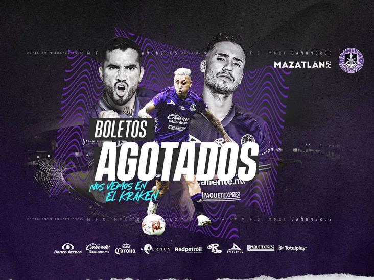 Mazatlán FC agotó los boletos del ´Kraken´