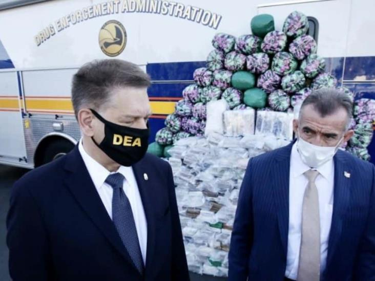La DEA incauta megacargamento de metanfetamina vinculada al Cártel de Sinaloa