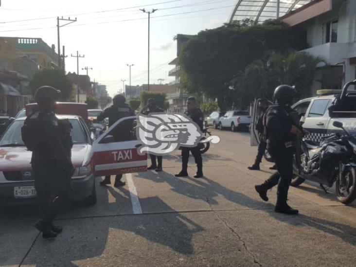 Liberan a tres presuntos secuestradores en Coatzacoalcos