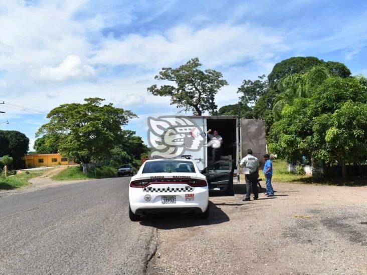 Intensifica Guardia Nacional vigilancia en carreteras del sur de Veracruz