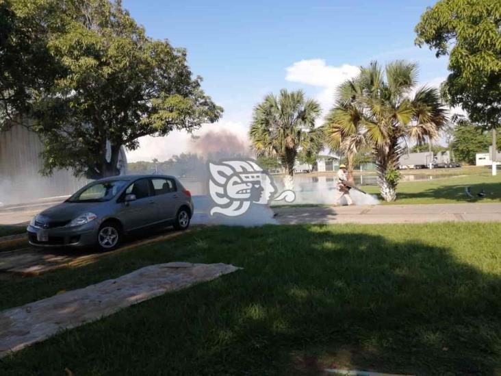 Fumigan las instalaciones de Astilleros de Marina en Coatzacoalcos