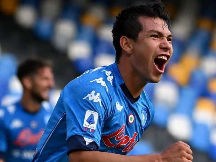 ´Chucky´ Lozano anotó doblete con el Napoli